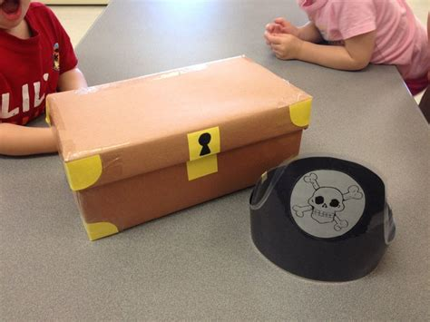 How To Make A Shoe Box Out Of Paper - treasure shapes turn a shoe box into a treasure chest