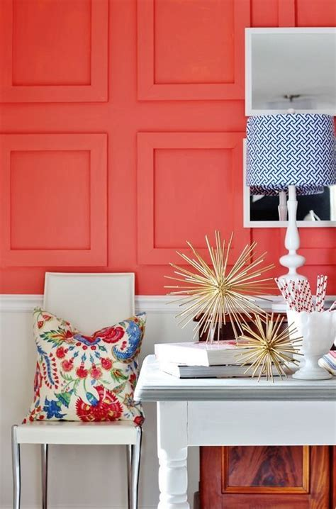 room reveal sherwin williams color of the year color of the year coral reefs and textured walls