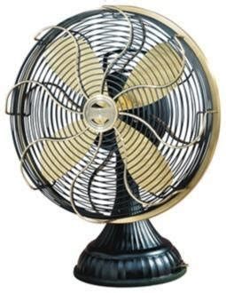 vintage style desk fan 7 vintage style tabletop fans that are kid the stir