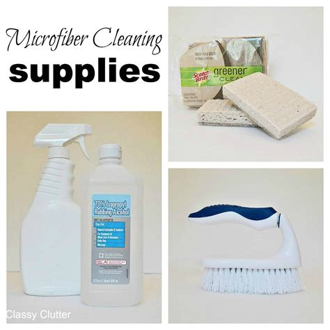 how do you clean a couch how to clean microfiber with professional results classy