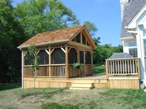 Pictures Of Screened In Decks Deck And Detached Screened Room Gazebo Yelp