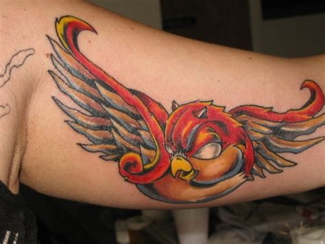 red demon tattoo russian