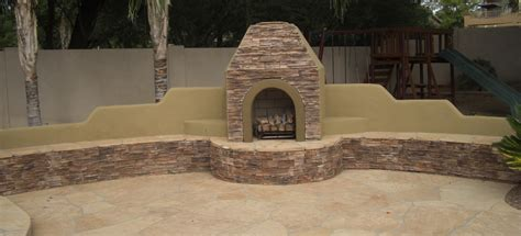 our scottsdale phoenix outdoor fireplaces portfolio desert crest llc