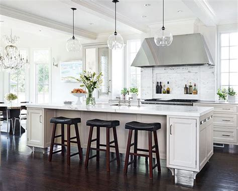 Lights Over Island In Kitchen | the white kitchen is here to stay decor gold designs