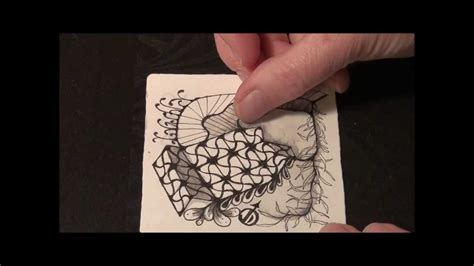 zentangle pattern youtube undine original zentangle 174 pattern from jane dickinson