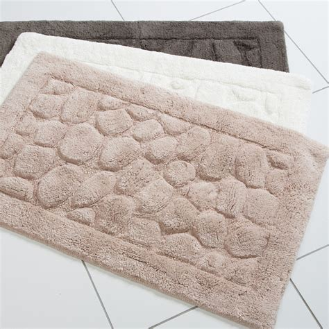 Modern Bathroom Mats Pebble Modern Bath Mats By Pillowtalk Au