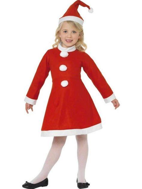 Dress Santa Kidos miss santa costume