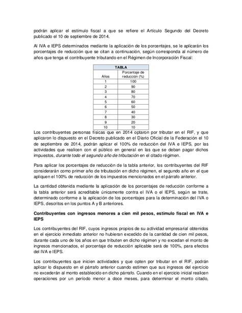 tablas isr rif tabla is r rif 2016 r 233 gimen de incorporaci 243 n fiscal 2015
