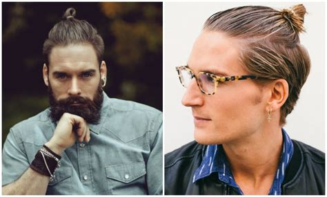 who does the top knot suit men best haircuts for men with a square face