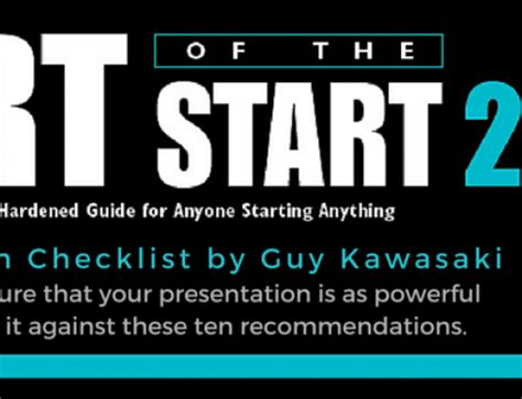 The Of The Start By Kawasaki by Kawasaki Startups How To Do A Pre Mortem And