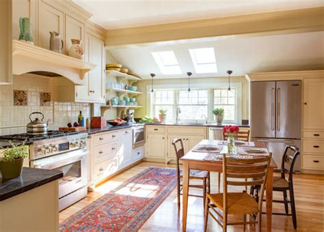 Kitchen Of The Week Swapping Out The 1980s For The 1890s Kitchen Design Massachusetts