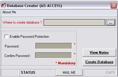 membuat database vb 2008 vb thok membuat aplikasi pembuat database database