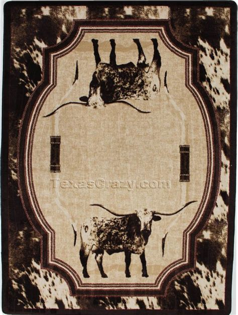 longhorn rug longhorn rug roselawnlutheran