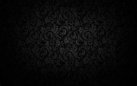 black floral texture pattern design wallpaper background