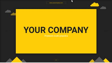 game templates for google slides free cloudy night presentation template for powerpoint and