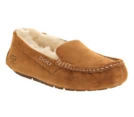 shoe slippers ugg australia ansley slipper chestnut suede slippers