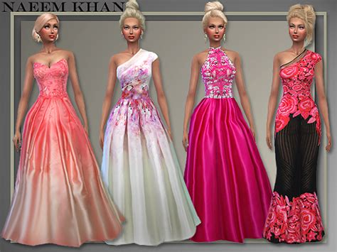 dresses sims 4 download all about style the holidays gowns sims 4 downloads
