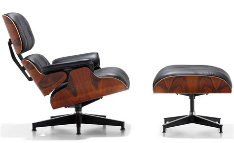eames classic lounge ottoman eames lounge chair replicates the best modern home interiors