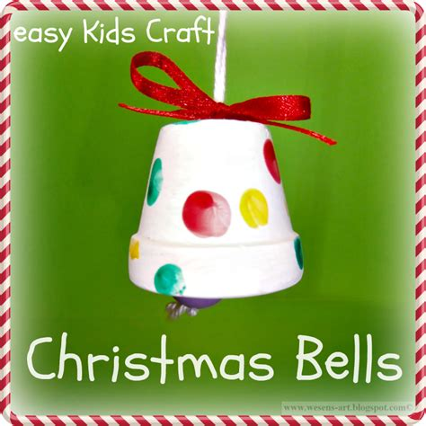 christmas bells easy kids crafts kids crafts pinterest
