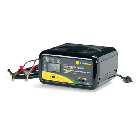 tractor battery charger deere automatic battery charger with engine start