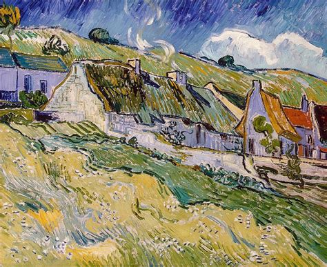 cottages vincent van gogh hermitage museum