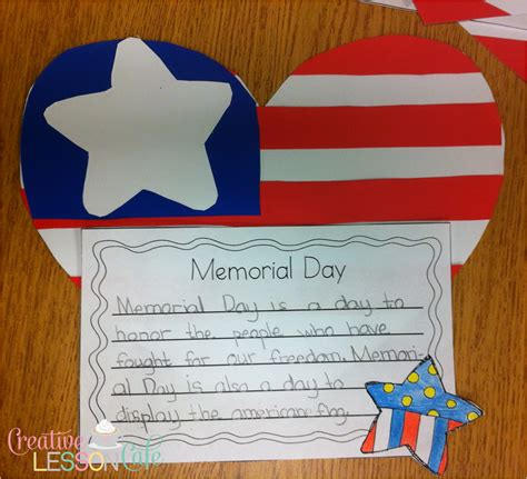 memorial day crafts creative lesson cafe five for friday end of the year
