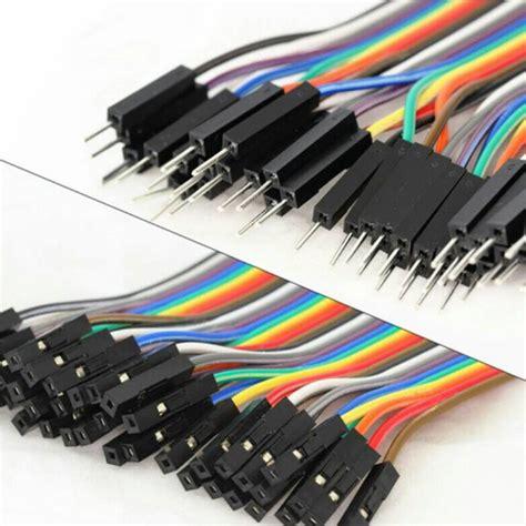 jual kabel jumper isi 20 arduino pelangi rainbow cable board medan teknik