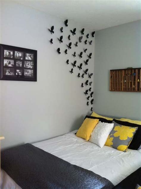 bedroom wall decor ideas 30 simple creative bedroom wall decoration ideas home