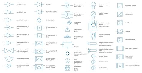 electrical symbols composite assemblies electrical