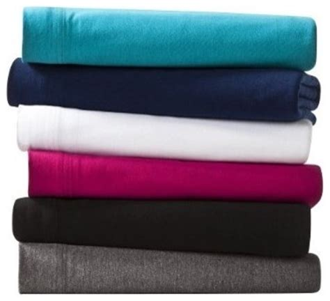Room Essentials Sheets by Room Essentials Jersey Sheet Set Sheet And Pillowcase
