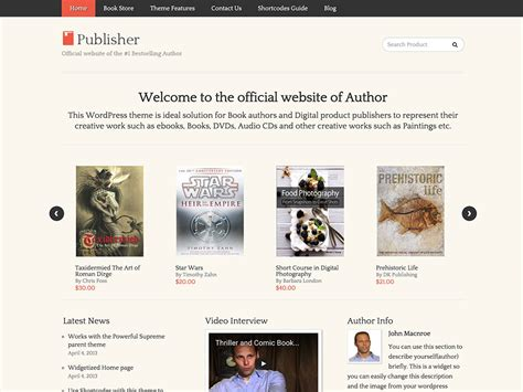 themes in the book sold 10 best wordpress themes for selling books 2018 athemes