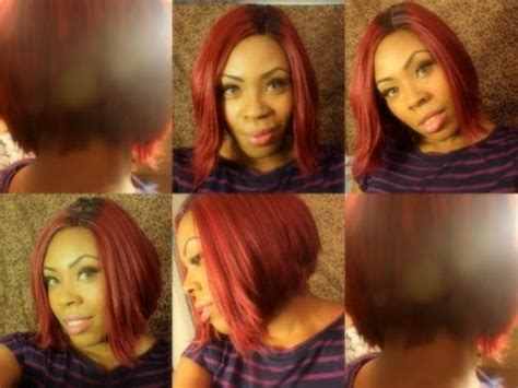 k michelle red inspired wig k michelle bet awards inspired wig under 30 youtube