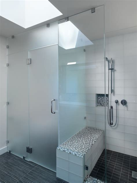 bathroom partitions san francisco san francisco frosted glass partitions bathroom contemporary with modern shelves black