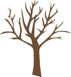 Tree Trunk With Branches Template by Outline Of Tree With Branches Clipart Best