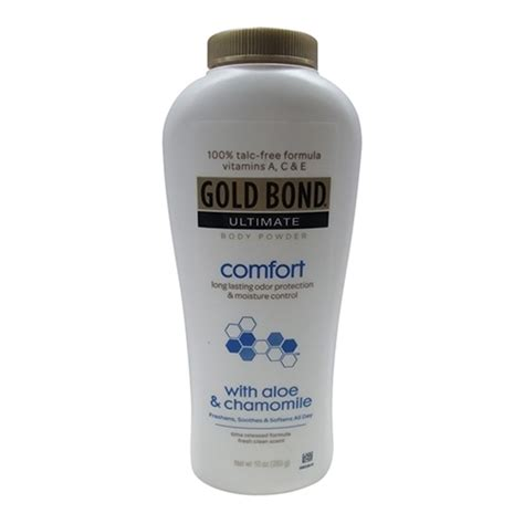 gold bond ultimate comfort body powder gold bond ultimate comfort body powder charmomile 10 oz