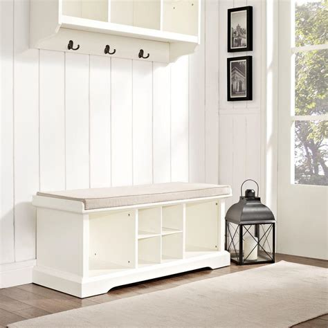 white entry way bench padded entryway bench white stabbedinback foyer