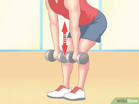 Barbel Tangan 5kg 4 cara untuk melatih otot punggung di rumah wikihow