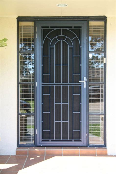 Security Doors Melbourne Made To Fit By Valesco Security Front Door Security Screen