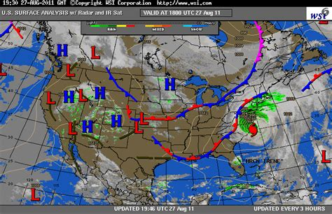 us weather map archive umbc page august 2011