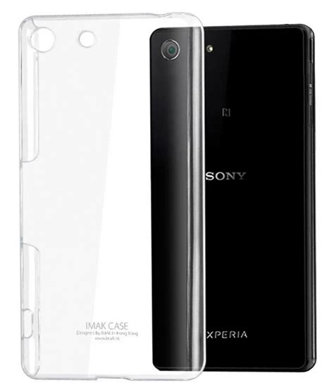 Backcover Xperia M5 covers hub back cover for sony xperia m5 transparent