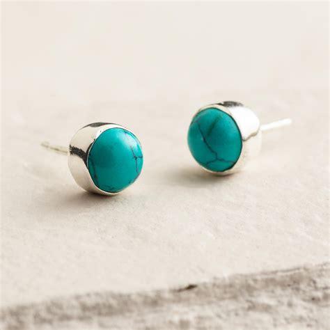 turquoise stud earrings world market