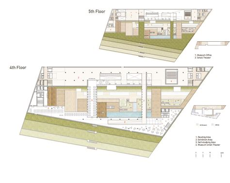 Small Floor Plans gallery of taichung city cultural center competition entry
