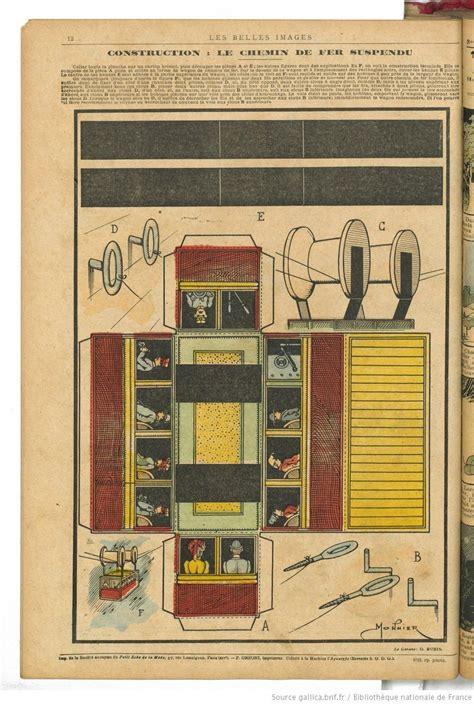 Les Belles Maisons De 3474 by Les Belles Images 1904 Jouets En Papier