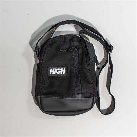 Zip Mini Shoulder Bag mini shoulder bag high side zip logo bg005 01 black
