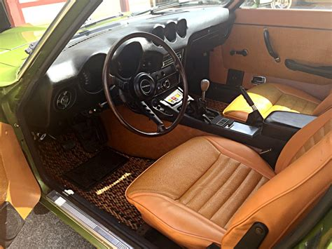 1973 datsun 240z interior looks great with the code 113