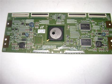 samsung lnt5271fx xaa capacitors electrorepairshop 40 46 52 hhc6lv3 3 tcon samsung lnt5271fx xaa
