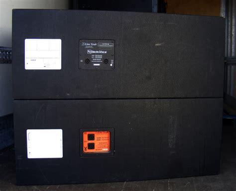 xsub  electro voice item