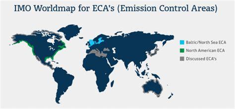 american eca zone map american and caribbean emissions area eca