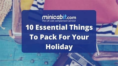 top 10 essential things to pack for india breathedreamgo minicabit blog