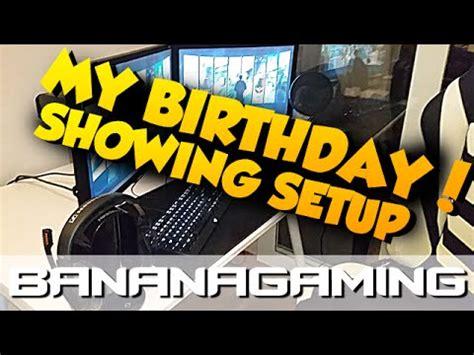 bananagaming wallpaper i turned 24 today setup video youtube